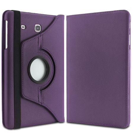 Samsung Galaxy Tab A 2016 10.1 360° Flip Etui Leder Smart Case Tasche Hülle LILA Violett – Bild 5