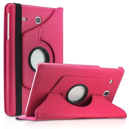 Samsung Galaxy Tab A 2016 10.1 360° Flip Etui Leder Smart Case Tasche Hülle PINK Rosa – Bild 1