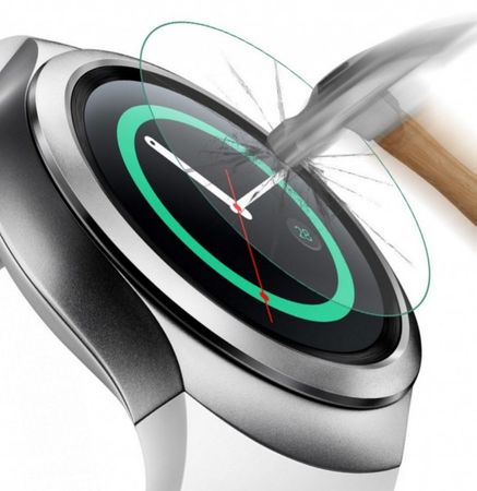 Samsung Gear S2 Watch PANZERGLAS Tempered Glass Glas Schutzfolie – Bild 2