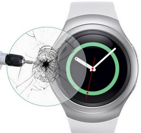 Samsung Gear S2 Watch PANZERGLAS Tempered Glass Glas Schutzfolie – Bild 1