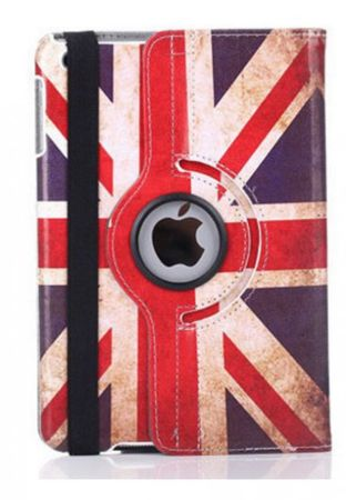 iPad mini 1 / 2 / 3 Leder Case 360° Etui UK Grossbritannien – Bild 3