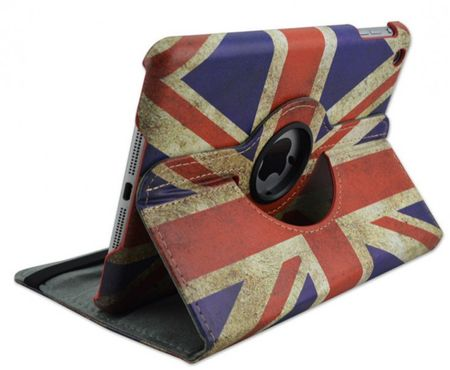 iPad 2 / 3 / 4 Leder Case 360° Etui UK Grossbritannien – Bild 1