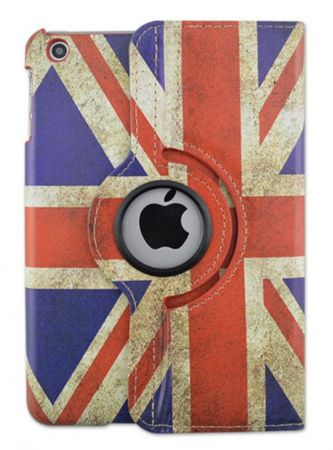 iPad 2 / 3 / 4 Leder Case 360° Etui UK Grossbritannien – Bild 3