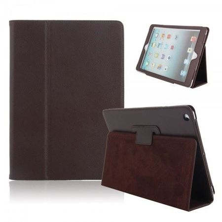 iPad Air / Air 2 Smart Flip Etui Hülle Leder Case Tasche BRAUN
