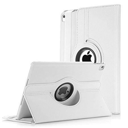 iPad 9.7 2017 360° Flip Etui Leder Smart Case Tasche Hülle WEISS – Bild 1