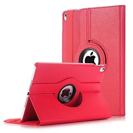 iPad 9.7 2017 360° Flip Etui Leder Smart Case Tasche Hülle ROT – Bild 1