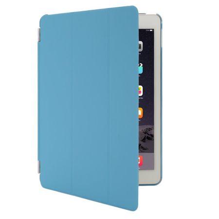 iPad 9.7 2017 Smart Case + Back Cover VORDER- & HINTERSEITE Hülle Etui Tasche BLAU – Bild 4