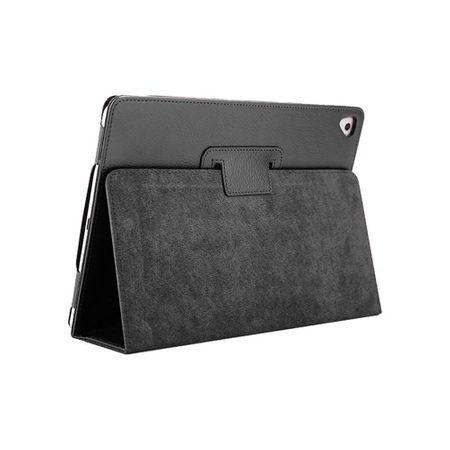iPad 9.7 2017 Leder Smart Case Cover Etui Hülle Tasche SCHWARZ – Bild 2