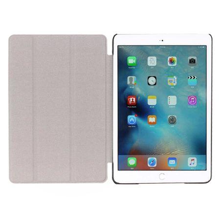 iPad 9.7 2017 Smart Etui Leder Hülle Case Tasche VINTAGE Blau – Bild 5