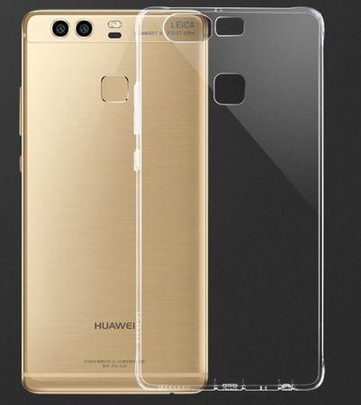 Huawei P9 Gummi TPU Silikon Clear Case TRANSPARENT – Bild 1