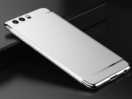 Huawei P8 Lite 2017 Anki Royal Hard Case Cover Hülle SILBER – Bild 2