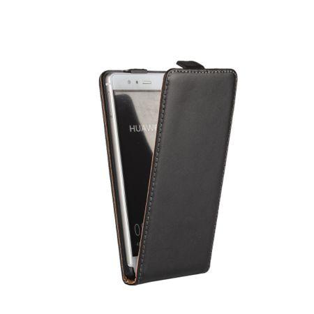HTC U11 Leder Flip Case Cover Etui Tasche Vertikal Hülle SCHWARZ – Bild 2