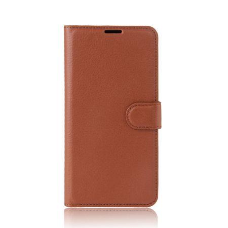 Sony Xperia XZ Premium Flip Etui Leder Case Tasche Hülle mit Kartenfach BRAUN – Bild 2