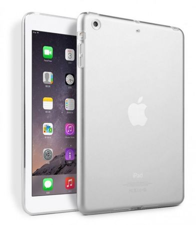 iPad Air 2 Gummi TPU Silikon Clear Case TRANSPARENT – Bild 1