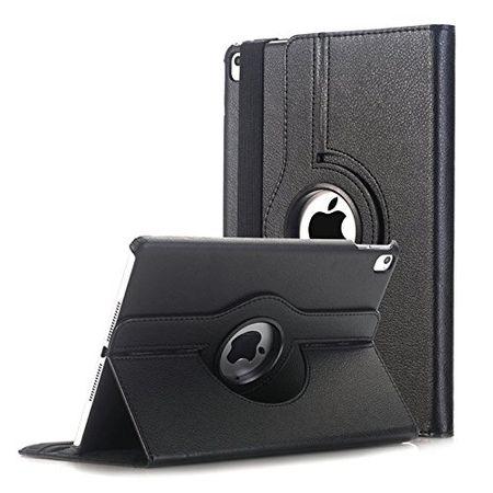 iPad Pro 10.5 360° Flip Etui Leder Smart Case Tasche Hülle SCHWARZ – Bild 1