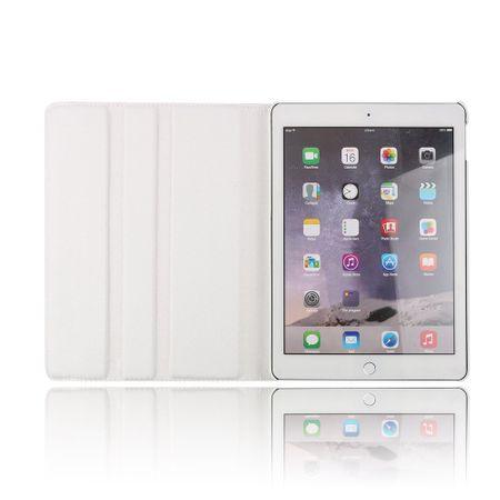iPad Pro 10.5 360° Flip Etui Leder Smart Case Tasche Hülle WEISS – Bild 6
