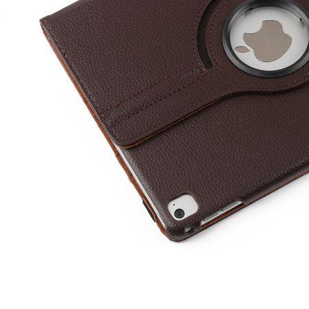 iPad Pro 10.5 360° Flip Etui Leder Smart Case Tasche Hülle BRAUN – Bild 4