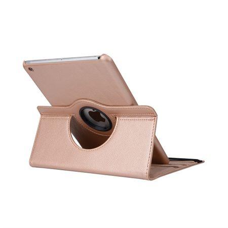 iPad Pro 10.5 360° Flip Etui Leder Smart Case Tasche Hülle GOLD – Bild 7