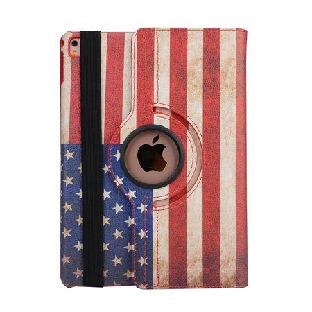 iPad Pro 10.5 360° Flip Etui Leder Smart Case Tasche Hülle USA Amerika – Bild 5