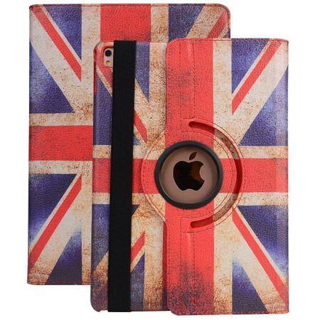 iPad Pro 10.5 360° Flip Etui Leder Smart Case Tasche Hülle UK Großbritannien – Bild 2