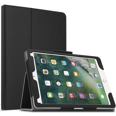 iPad Pro 10.5 Leder Smart Case Cover Etui Hülle Tasche SCHWARZ – Bild 1