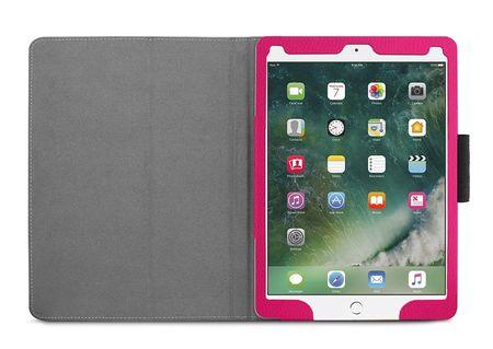 iPad Pro 10.5 Leder Smart Case Cover Etui Hülle Tasche Violett Weinrot – Bild 6