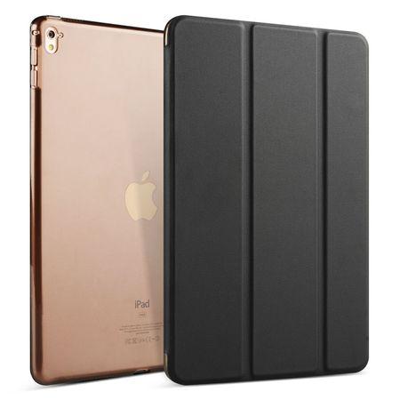 iPad Pro 10.5 Smart Etui Leder Hülle Case Tasche SCHWARZ – Bild 1