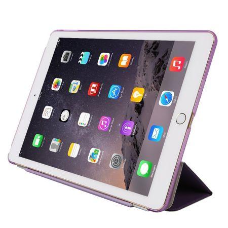iPad Pro 10.5 Smart Case + Back Cover VORDER- & HINTERSEITE Hülle Etui Tasche LILA Violett – Bild 4