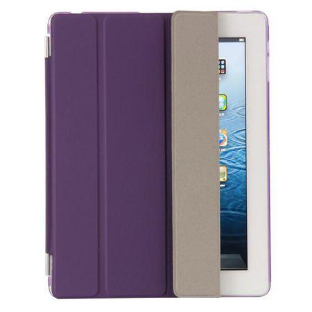 iPad Pro 10.5 Smart Case + Back Cover VORDER- & HINTERSEITE Hülle Etui Tasche LILA Violett – Bild 5