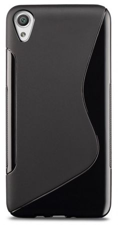 Sony Xperia X S-Line Gummi TPU Silikon Case Cover Hülle SCHWARZ – Bild 2