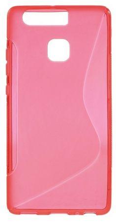 Huawei P9 Plus S-Line Gummi TPU Silikon Case Cover Hülle PINK ROSA – Bild 2