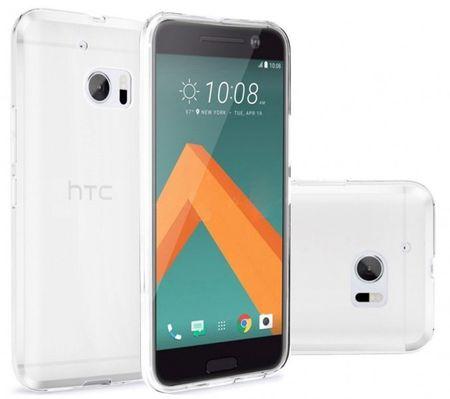 HTC 10 Gummi TPU Silikon Clear Case Cover Hülle Klar TRANSPARENT – Bild 1