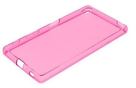 Sony Xperia X Performance Gummi TPU Silikon Clear Case Cover Hülle PINK ROSA – Bild 2