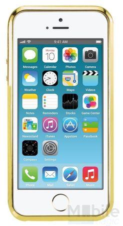 iPhone SE / 5S / 5 Alu-Bumper Metall Bumper Case Hülle GOLD – Bild 3
