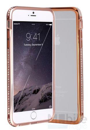 iPhone 6S Plus / 6 Plus Alu-Bumper Metall Bumper Case Hülle ROSÉ GOLD ROSÉGOLD – Bild 1