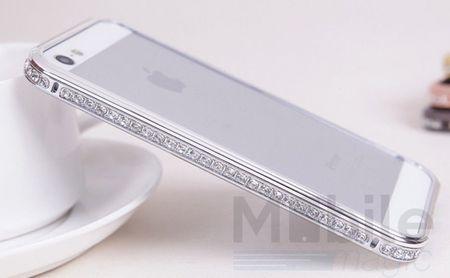 iPhone 6S Plus / 6 Plus Alu-Bumper Metall Bumper Case Hülle SILBER – Bild 2