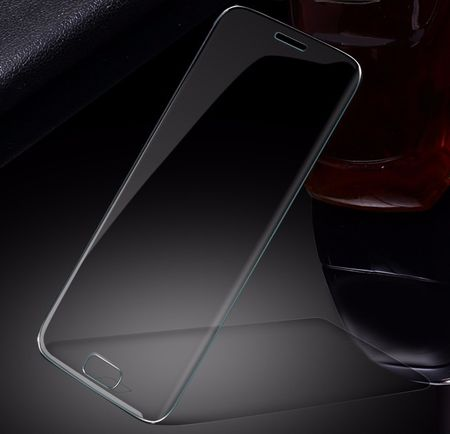 Samsung Galaxy J3 2017 RANDLOS Panzerglas Glas Schutzfolie Schutzglas Curved Tempered Glass TRANSPARENT – Bild 1
