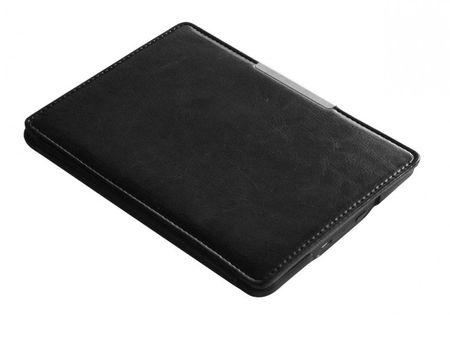 Amazon Kindle Paperwhite 1 / 2 / 3 Flip Etui Cover Leder Case Tasche mit Magnetverschluss SCHWARZ – Bild 3