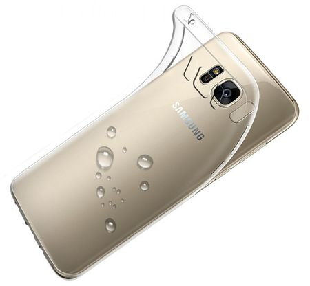 Samsung Galaxy J3 2017 TPU Gummi Hülle Klar Silikon Crystal Clear Case TRANSPARENT – Bild 2
