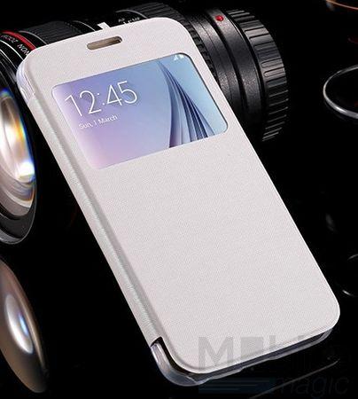 Samsung Galaxy S7 Window View Cover Etui Case Hülle WEISS – Bild 3