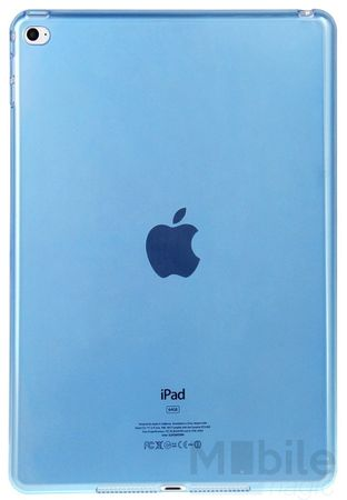 iPad mini 4 Gummi TPU Silikon Clear Case BLAU – Bild 2