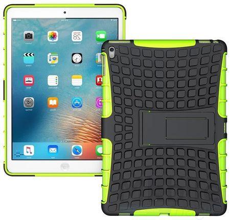 """iPad Pro 9.7"""" Hybrid Outdoor Case GRÜN / SCHWARZ"""