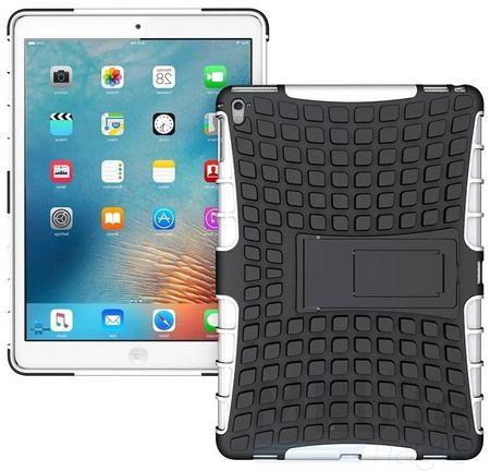 """iPad Pro 9.7"""" Hybrid Outdoor Case WEISS / SCHWARZ"""