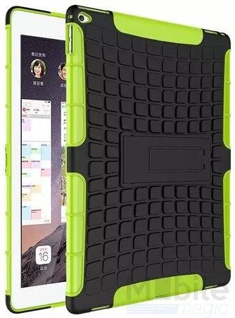 iPad Air 2 Hybrid Outdoor Case GRÜN / SCHWARZ – Bild 1