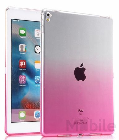 iPad Air 2 Gummi TPU Silikon Case PINK ROSA TRANSPARENT – Bild 2