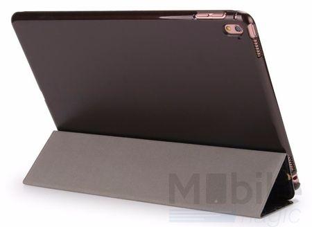 "iPad Pro 9.7"" Smart Luxus Etui Tasche Hülle SCHWARZ – Bild 3"