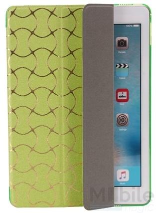 """iPad Pro 12.9"""" Smart Luxus Etui Tasche Hülle GRÜN – Bild 4"""