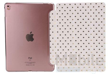 "iPad Pro 9.7"" Luxus Stars Smart Sterne Etui Tasche Hülle WEISS – Bild 4"
