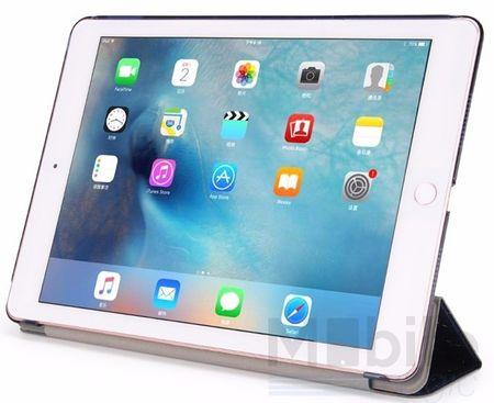 "iPad Pro 9.7"" Luxus Stars Smart Sterne Etui Tasche Hülle BLAU – Bild 2"