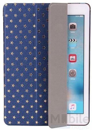 "iPad Pro 9.7"" Luxus Stars Smart Sterne Etui Tasche Hülle BLAU – Bild 4"